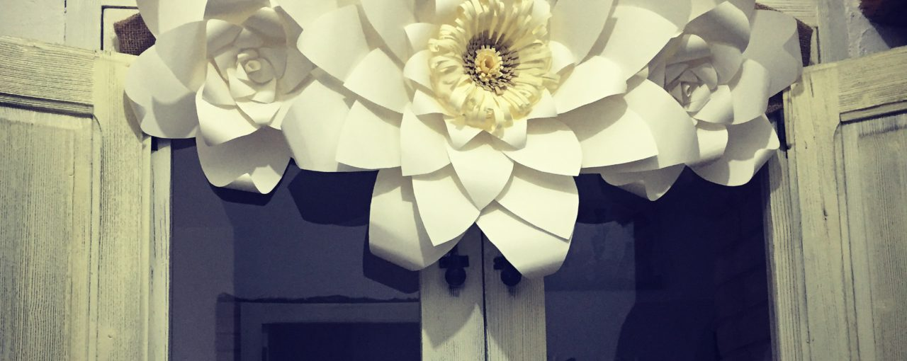 Un must tra i dettagli e i decori handmade: i Paper Flowers
